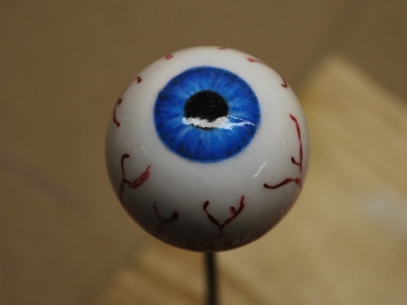 The completed eye